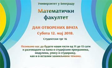 "<a href=""http://www.matf.bg.ac.rs/vesti/2515/dan-otvorenih-vrata-na-matematickom-fakultetu-12052018/"">Дан отворених врата</a>"