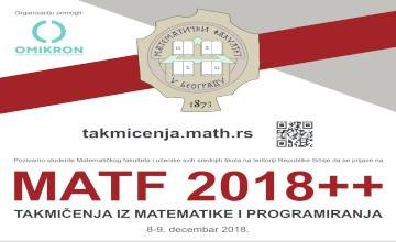 "<a href=""http://takmicenja.matf.bg.ac.rs/#!/"">Takmičenje Matf2018++</a>"
